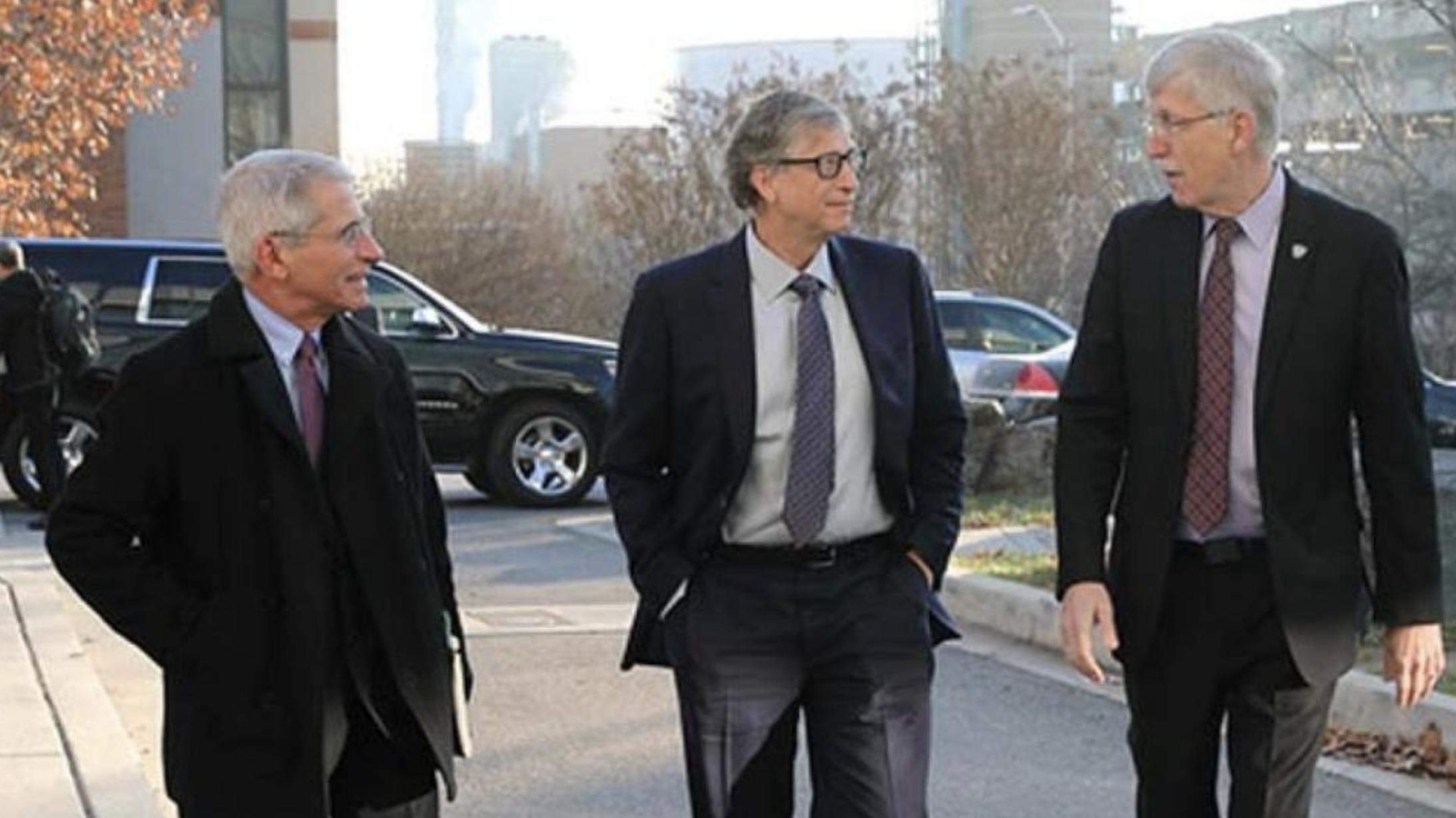 Fauci and Bill Gates