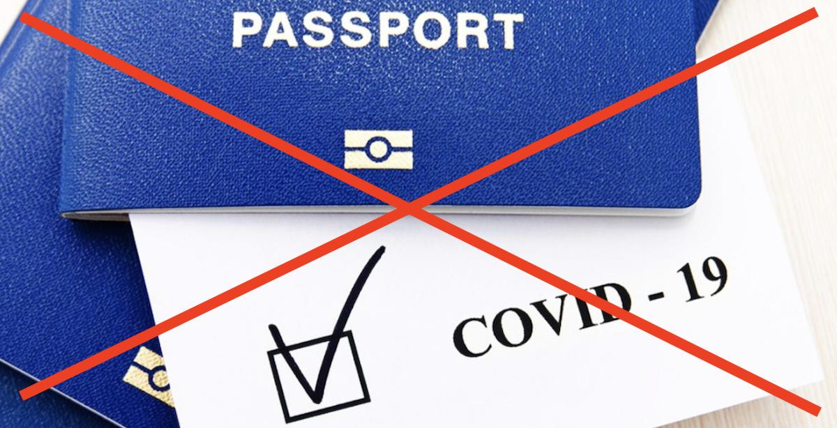 ban vaccine passports