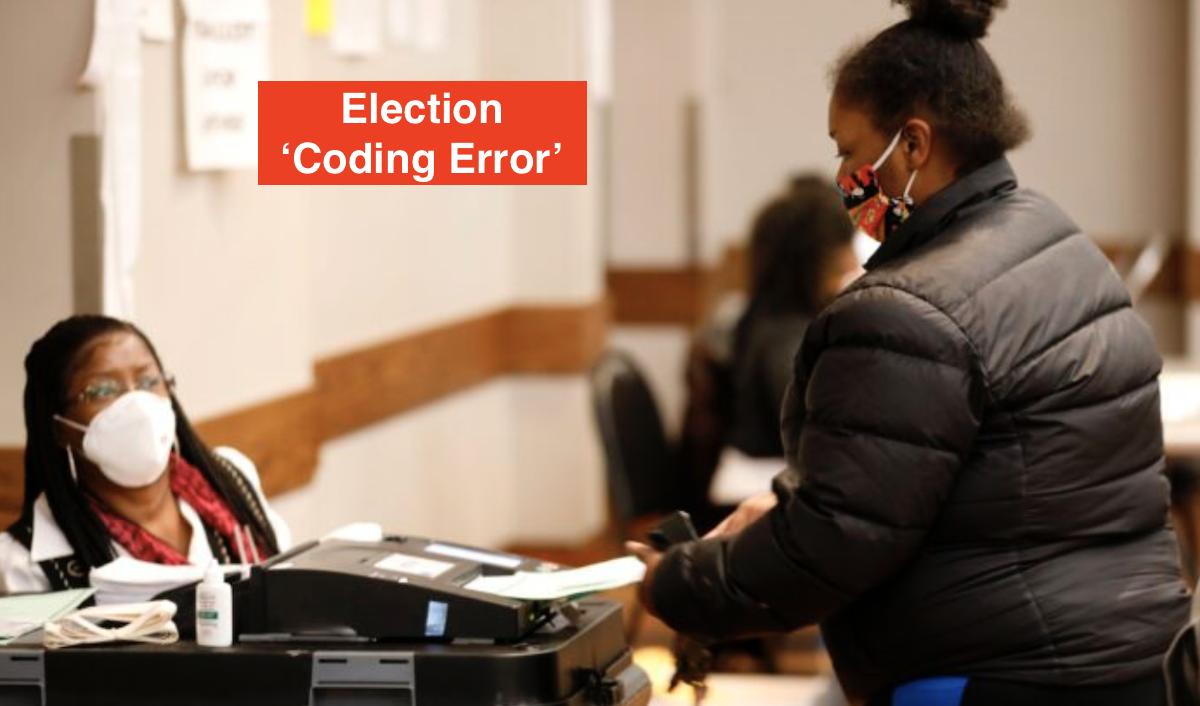 Election Coding Error