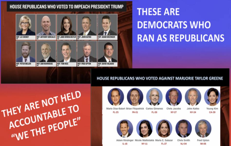 Democrats and Rino Republicans
