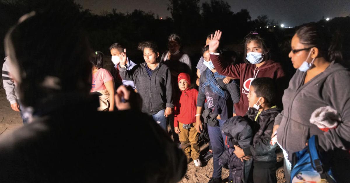 COVID-Positive Illegal Immigrants