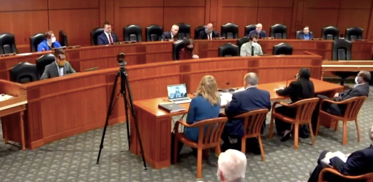 election fraud hearing