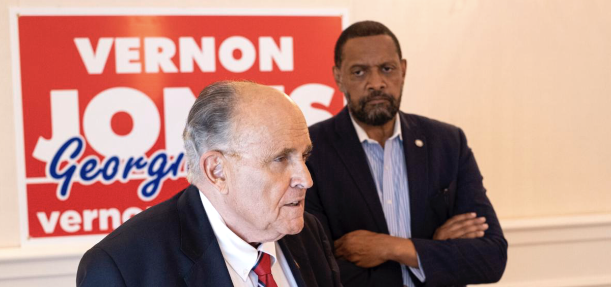 Giuliani Vernon Jones