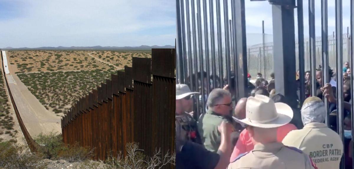 migrants Texas Border Agents
