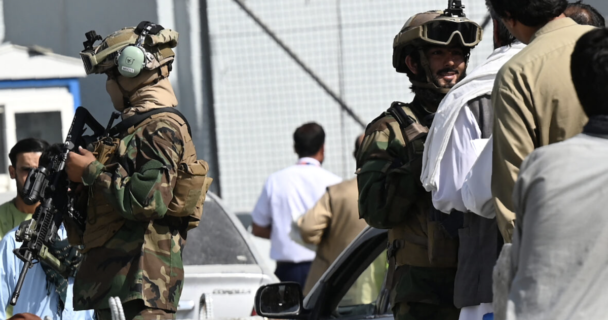Taliban Blocking Americans